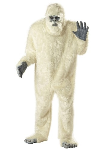Men's Abominable Snowman Costume