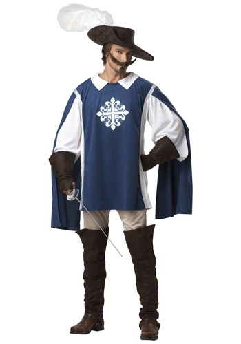 Adult Brave Musketeer Costume