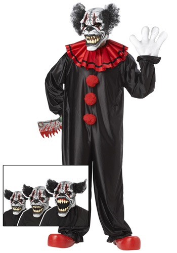 Killer Last Laugh Clown Costume