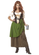 Green Tavern Maiden Costume