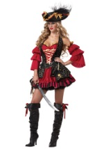 Sexy Plus Size Spanish Pirate Costume