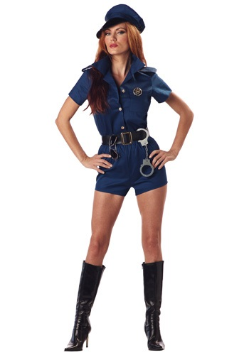 woman cop costume