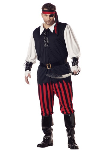 Cutthroat Plus Size Pirate Costume
