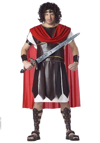 Plus Size Roman Soldier Costume