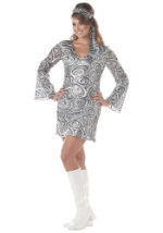 Plus Size Sexy Disco Diva Costume