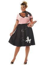 Plus Size 50s Sock Hop Costume