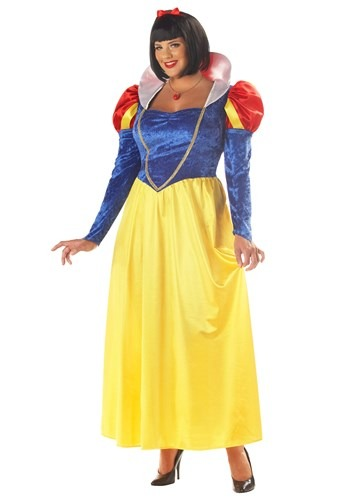 Plus Size Princess Snow White Costume