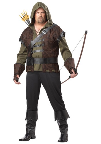 Plus Size Legendary Robin Hood Costume