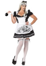 Plus Size Sexy Gothic Alice Costume