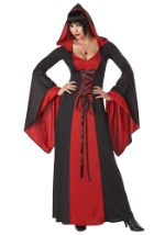 Deluxe Plus Size Hooded Vampire Robe