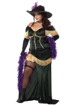 Old West Saloon Madam Plus Size Costume