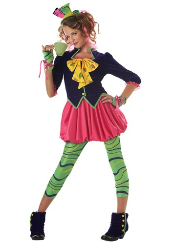 Miss Hatter Tween Costume