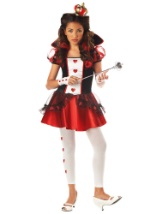 Sassy Teen Queen of Hearts Costume