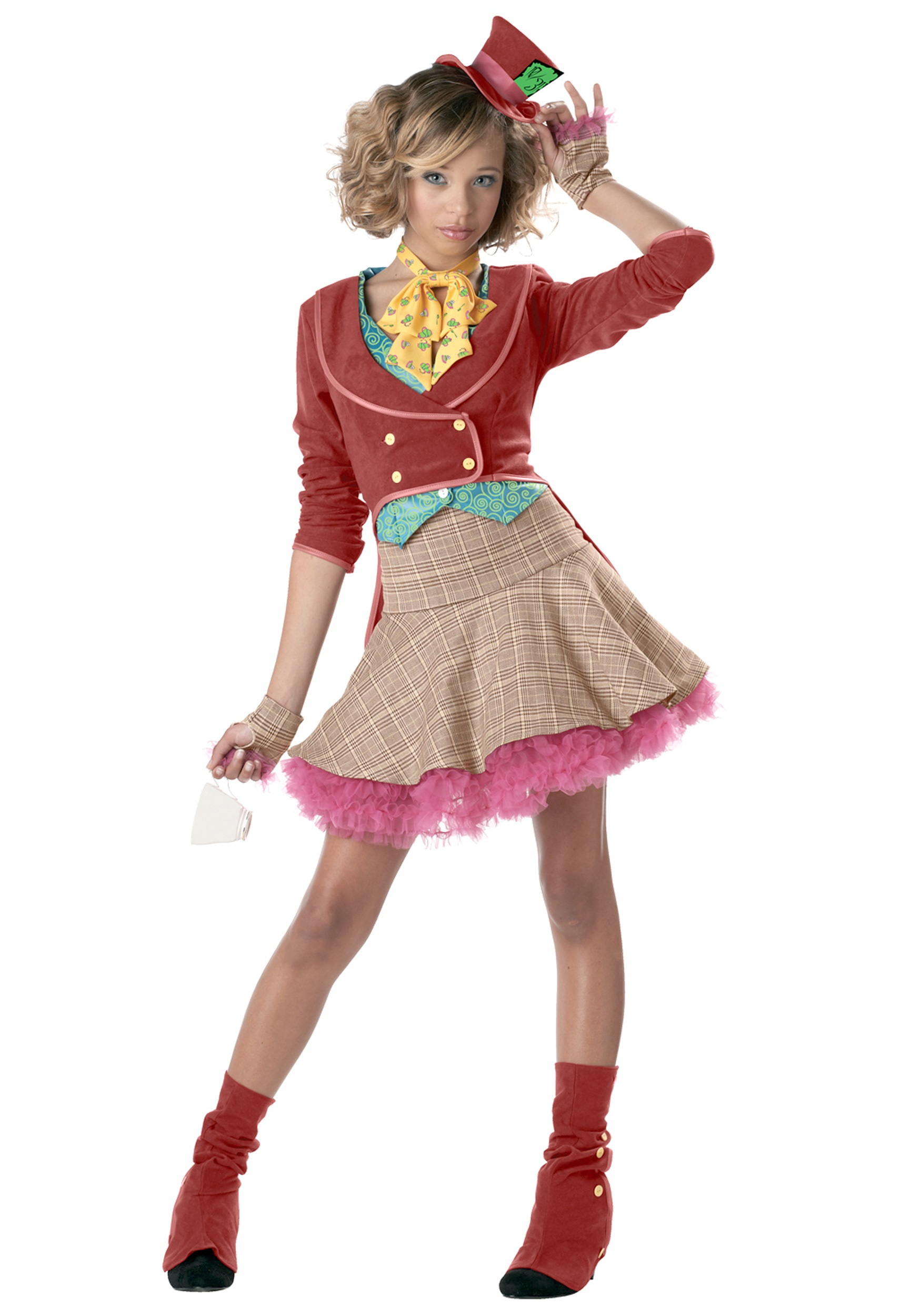 Girls Teen Mad Hatter Costume  sc 1 st  Halloween Costume Ideas : halloween costumes ideas teenage girl  - Germanpascual.Com