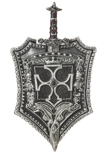 Crusader Knight Shield and Sword