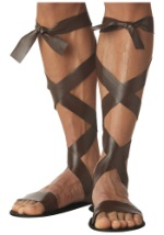 Adult Brown Roman Sandals