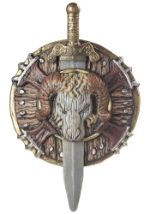 Viking Shield and Sword