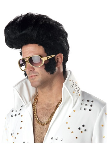 The most iconic rock'n'roll hairstyle of all time is replicated in this