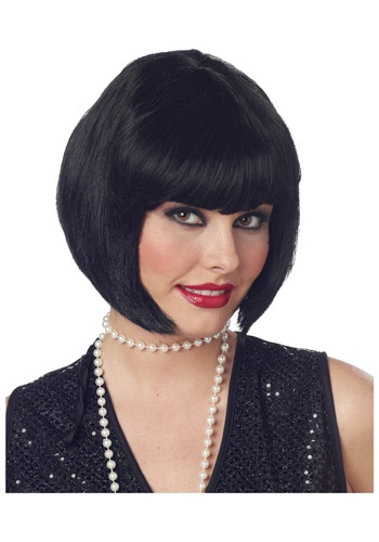 flapper hairstyle. Flapper Wig