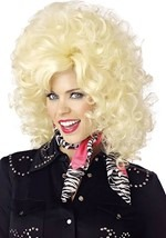 80s Country Western Singer Wig