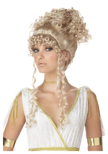 Hellenic Goddess Wig - Roman, Greek Goddess Halloween Costume Wigs