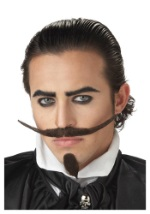 Musketeer Chin Patch & Mustache
