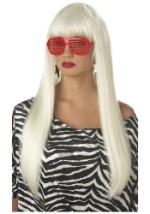 Platinum Blond Pop Angel Wig