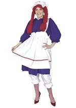 Plus Size Raggedy Doll Costume