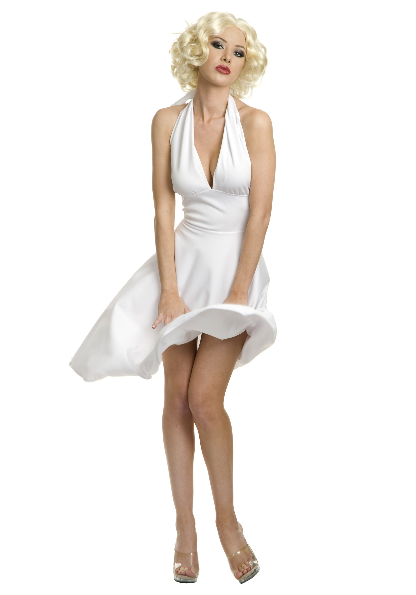 Plus Size Hollywood Marilyn Dress - Womens Marilyn Monroe Costumes