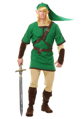 Adult Elf Time Warrior Costume