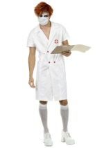 Comic Book Villain Nurse Costume