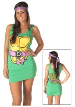 Sexy TMNT Donatello Purple Tank Dress