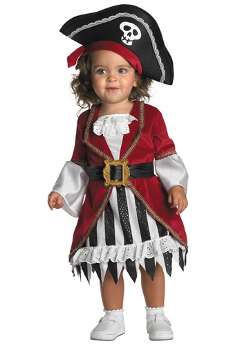 Toddler Pirate Queen Costume