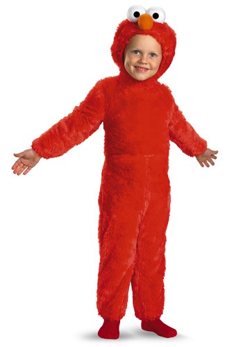 Toddler Fuzzy Elmo Costume