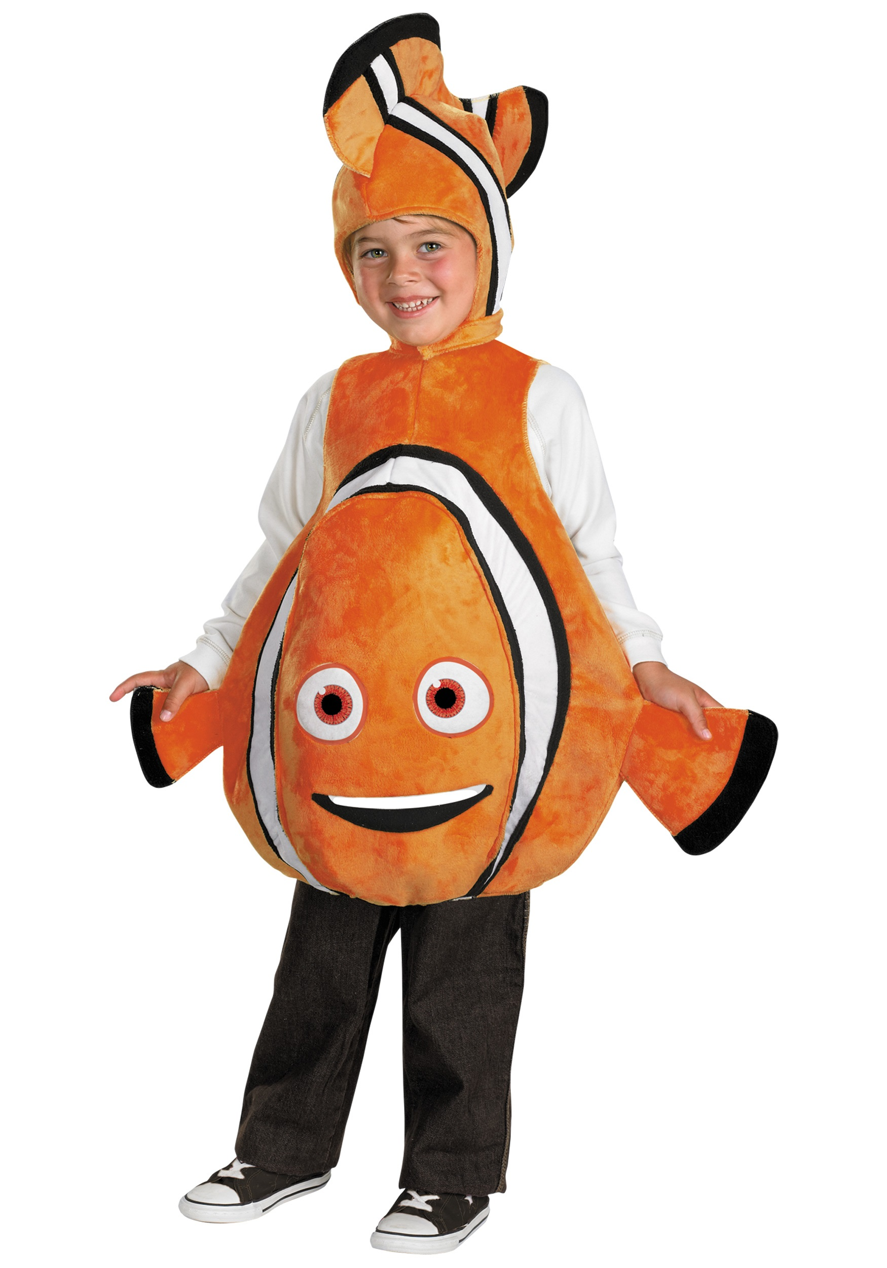 Toddler deluxe nemo clown fish costume nemo costume for for Clown fish costume