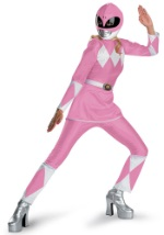 Pink Power Ranger Adult Costume