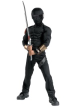 Deluxe Child Snake Eyes Costume