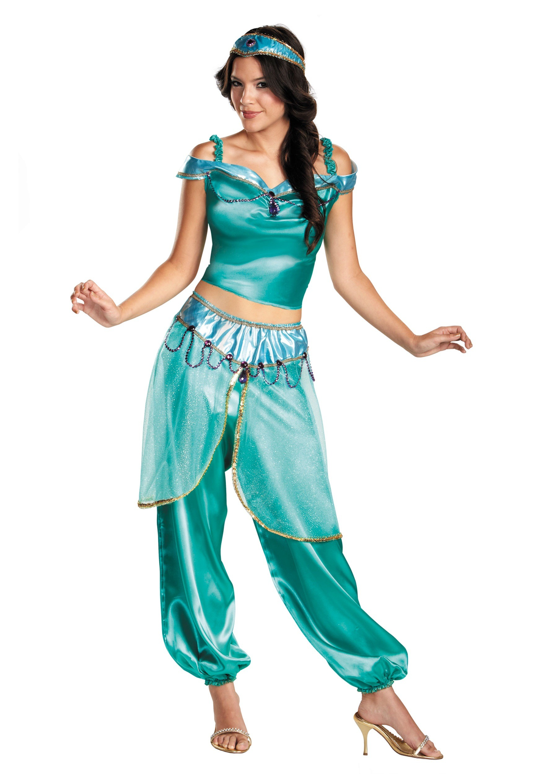 Princess Jasmine Costume  sc 1 st  Halloween Costume Ideas & Princess Jasmine Costume - Princess Jasmine Costumes
