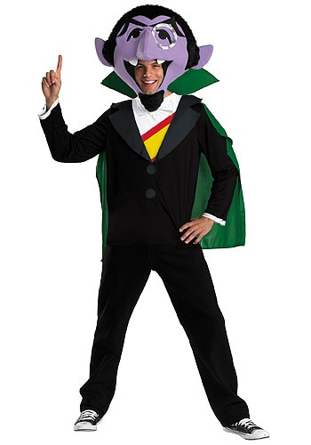Adult Sesame Street Count Costume