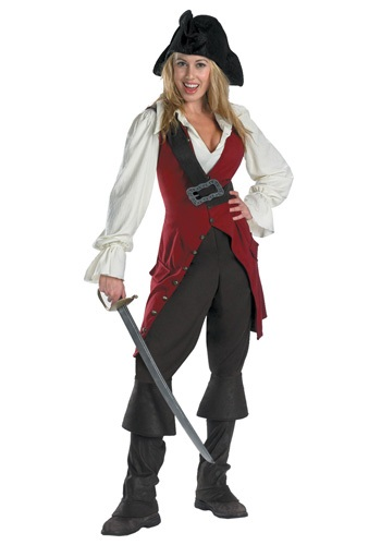 Adult Elizabeth Swann Pirate Costume