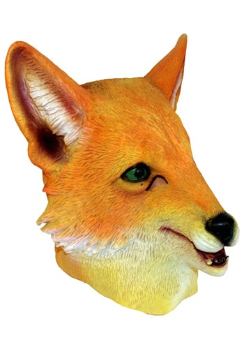 Molded Vinyl Fox Mask