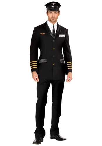 Adult Mile High Pilot Costume