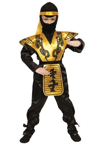 Boys Mortal Ninja Scorpion Costume