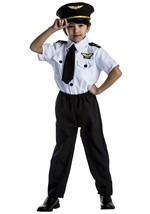 Boys Airplane Pilot Costume
