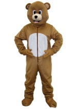 Adult Brown Bear Mascot Costume