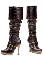 Deluxe Sexy Buckle Pirate Boots