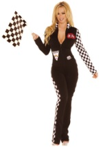 Sexy Race Car Driver Jumpsuit