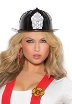 Fire Chief Black Hat