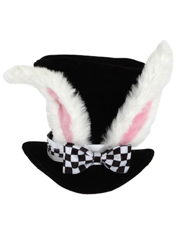 Kids White Rabbit Hat