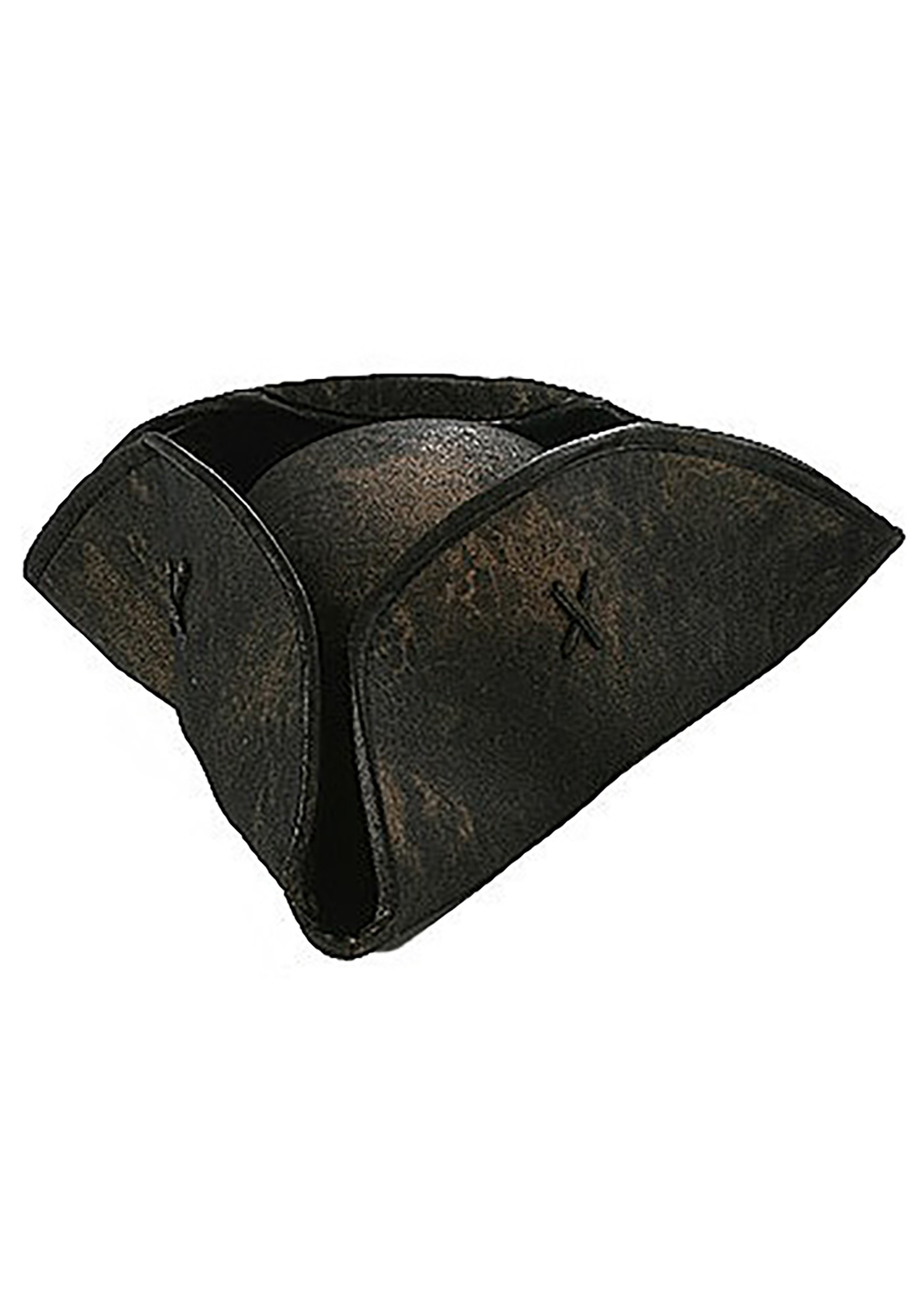 806802eb Tricorne Pirate Hat - Tricorn Three Corner Colonial Hats